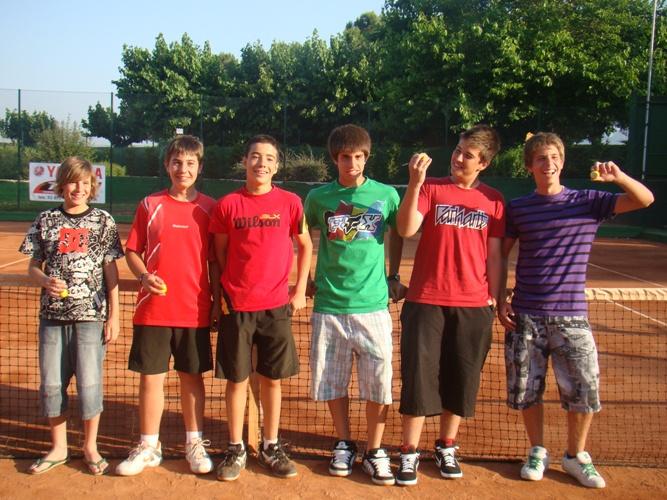 Club Tennis Manersa Final de Curs Escola de Tennis