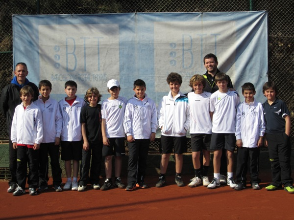 Club Tennis Manersa Final Campionat Catalunya Aleví