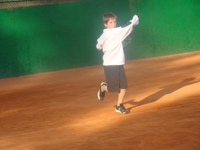 Club Tennis Manersa Campionat benjamins 'Juguem'